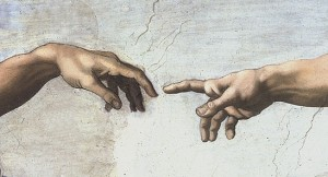 michelangelo finger of god 300x162 Biology: Not a Science Anymore