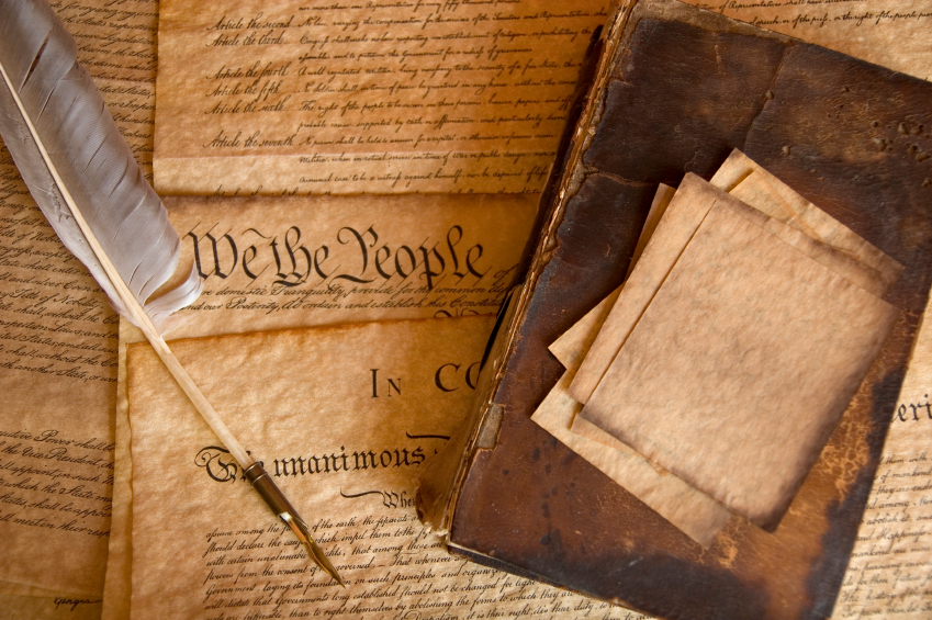 the constitution paper Buy 4 antiqued parchment paper us historical documents - the declaration of independence, the us constitution, the bill of rights, and the gettysburg address: history - amazoncom free delivery possible on eligible purchases.