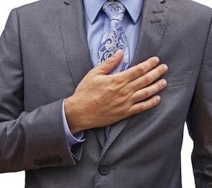 hand-over-heart