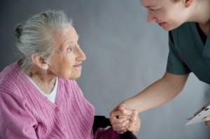 seniorladywithcaregiver
